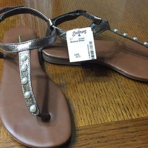 New sandals by Maurice's.  Size 6